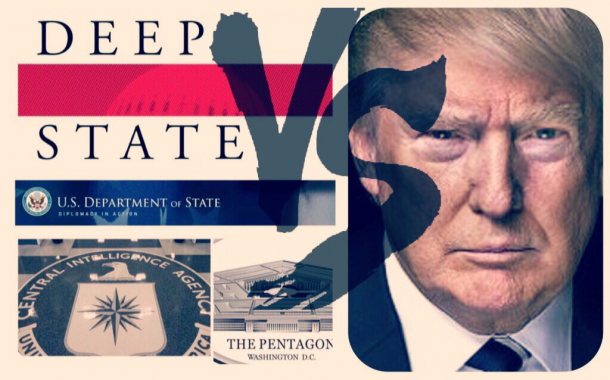 The American (Deep) state VS Donald Tramp
