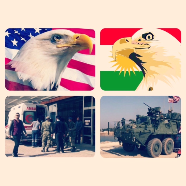 ΣΥΡΙΑΚΟ- Ενισχύουν οι ΗΠΑ τις Θέσεις των Κούρδων Κατά των Τούρκων (Απώλειες για τους Τούρκους)