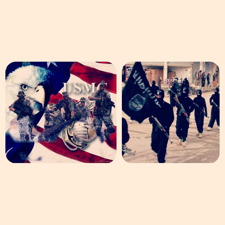 ΗΠΑ-Πεζοναυτες VS Ισλαμικό Παρακράτος